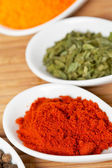 Spices background — 图库照片