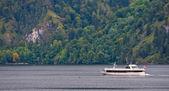 Jacht przejście — Zdjęcie stockowe