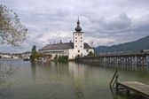 Seeschloss Ort, Gmunden, Austria — Stock Photo