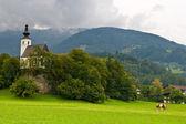 St Nikolaus Church, Golling, Austria — Stock Photo