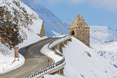 Monument in the Grossglockner, Austria — Stock Photo