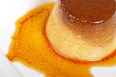 Cream caramel dessert — Stock Photo