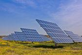 Güneş enerjisi santrali — Stok fotoğraf