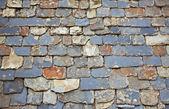 Close up of slate roof tiles background — Foto Stock
