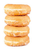 Four delicious donuts — Stock Photo