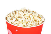 Popcorn in a bucket — Stock Photo