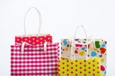 Shopping bags detail — Stock Photo