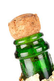 Detail of champagne cork — Stock Photo