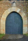 Castle door — Stock Photo