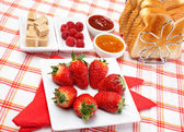 Yummy breakfast — Stock Photo