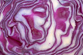 Red cabbage background — Stock Photo