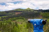 Coin telescope on park — Stock Photo