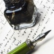 Stockfoto: Writing