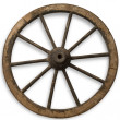 Old Wheel — Stock fotografie #5752981