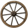Old Wheel — Foto Stock #5752981