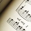 Stock Photo: Sheet Music