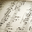 Music Notes — Stock Photo #5754220