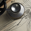 Foto Stock: Stethoscope