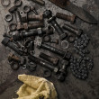 Foto Stock: Nuts and bolts