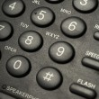 Black telephone buttons — Stock Photo #5756562
