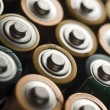 Stock Photo: Batteries,