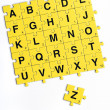 Stock Photo: Alphabet