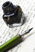 Writing — Stockfoto