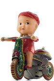 Toy bicycle — Stock Photo