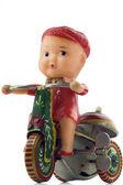 Toy bicycle — Stock Photo