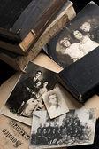 Vintage photographs — Stock Photo