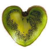 Hjärtat kiwi — Stockfoto