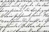 Handwriting vintage letter — Stock Photo