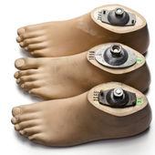 Faux Feet — Stock Photo