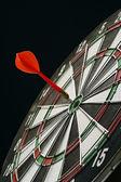 Darts board — Stock Photo