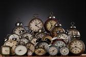 Orologi — Foto Stock