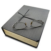 Book an Glasses — Foto Stock