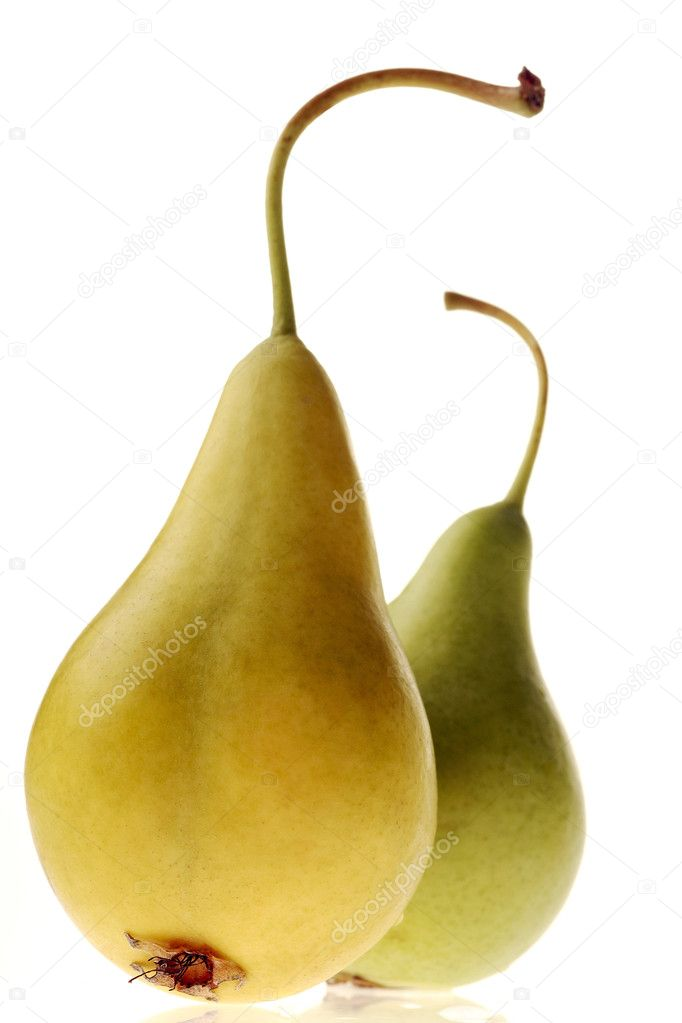 Colorful pears — Stock Photo #5754066