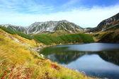 Mountain pond — Stock Photo