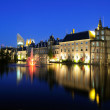 Binnenhof buildings of the Dutch Government in the Hague — Stock Photo #5968369