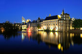 Binnenhof buildings of the Dutch Government in the Hague — Stock Photo