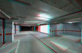 Podzemní garáže příchodové — Stock fotografie
