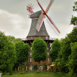 Windmill in Bremen, Germany - Stock Photo