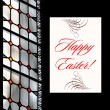 Easter Greetings Postcard — Stock Photo #6402468