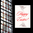 Royalty-Free Stock Photo: Easter Greetings Postcard
