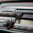 Stock Photo: Dashboard of car