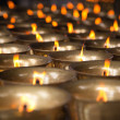 Thousand candles — Foto Stock