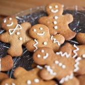 Gingerbread man cookies — Stock Photo