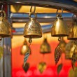 Golden bells in Bangkok — Stock Photo #5916544