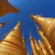 Stupas in Myanmar — Stock Photo