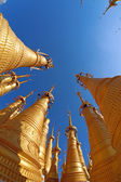 Stupas in Myanmar — Stock Photo